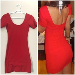 American Apparel Red Dress Size M